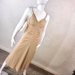 D&G Dolce &  like Nude Stretch jersey dress